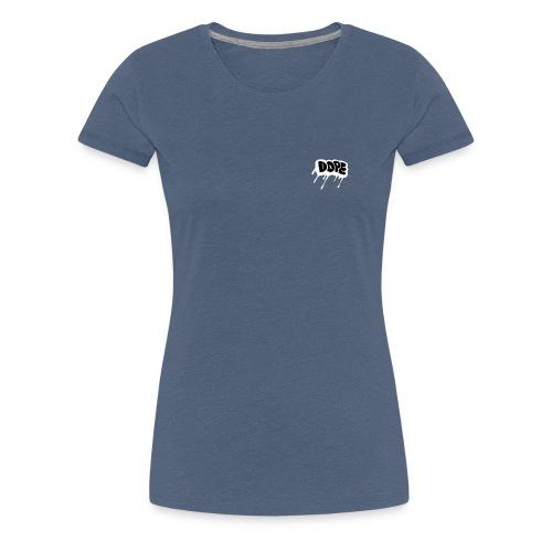 DOPE bubble letters - Women's Premium T-Shirt