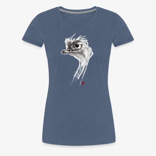 Sketchy Autruche - T-shirt Premium Femme
