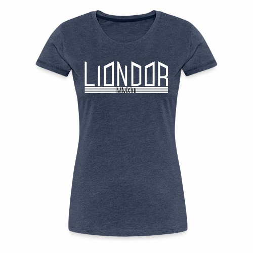 LD_Jagged_white - Frauen Premium T-Shirt