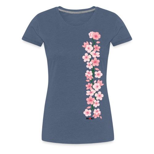 mioki cherry blossom - Frauen Premium T-Shirt
