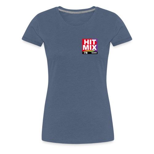 Hitmix Logo - T-shirt Premium Femme