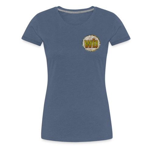 logo WB - Vrouwen Premium T-shirt