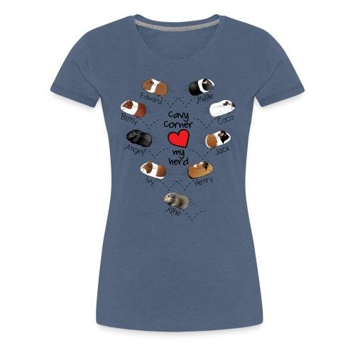 Hayley's Cavy Corner - Women's Premium T-Shirt