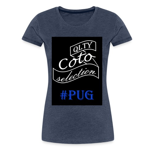 Pug version - Women's Premium T-Shirt