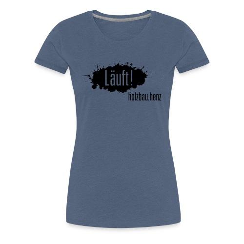 Läuft 2.0 - Frauen Premium T-Shirt