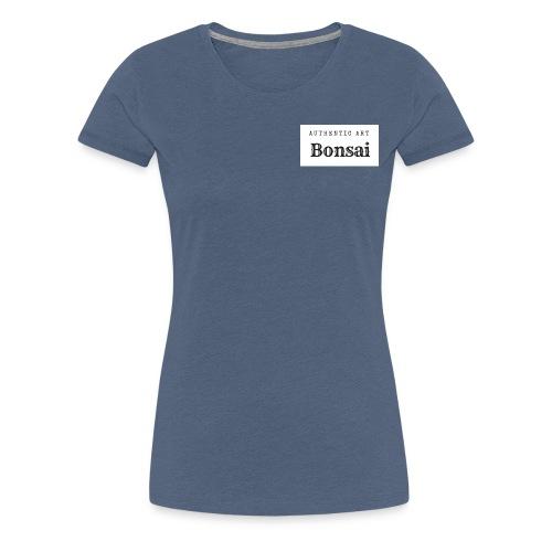 Authentic Art Bonsai - Women's Premium T-Shirt