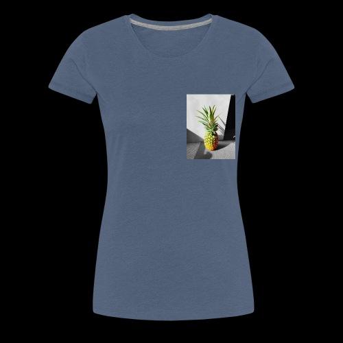 Ananas colorless X colorful - Frauen Premium T-Shirt