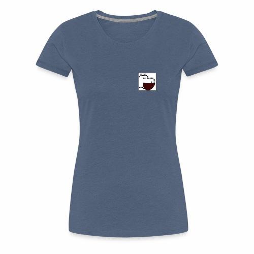 Hipopótamo alegre AppTard Games - Camiseta premium mujer