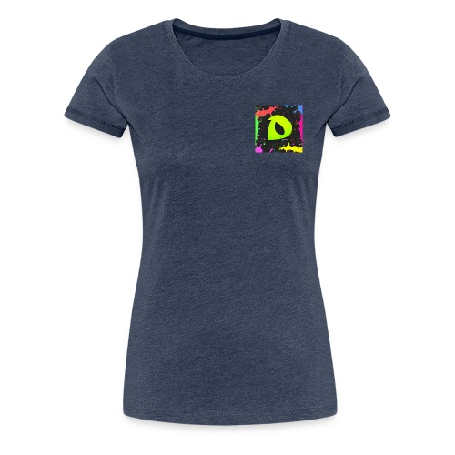 Logo de drek sur la poitrine - T-shirt Premium Femme