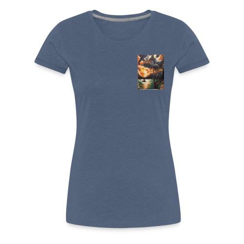LA CORSE - T-shirt Premium Femme