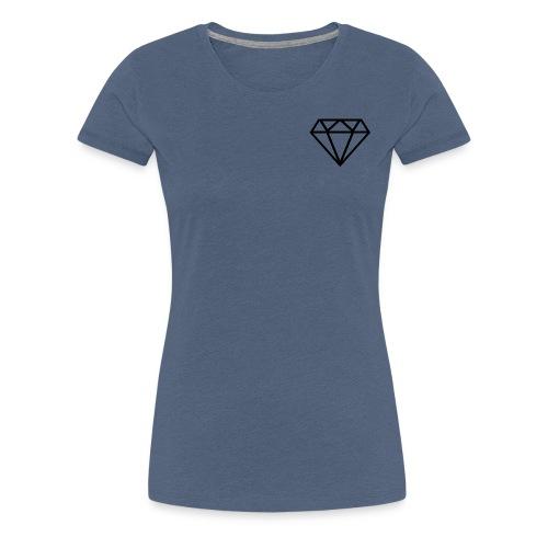 Diamante transparente - Camiseta premium mujer