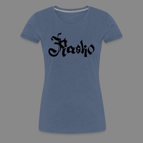 Rasko Calligraphy 1 - Frauen Premium T-Shirt