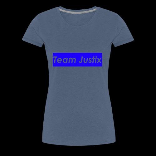 Team Justix im Supremestyle (blau) - Frauen Premium T-Shirt