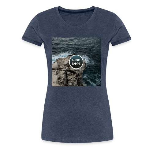 minddope.pictures Cliff-Logo - Frauen Premium T-Shirt
