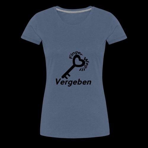 Vergeben! - Frauen Premium T-Shirt