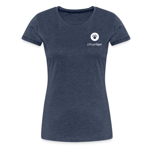Königstiger Square - Frauen Premium T-Shirt