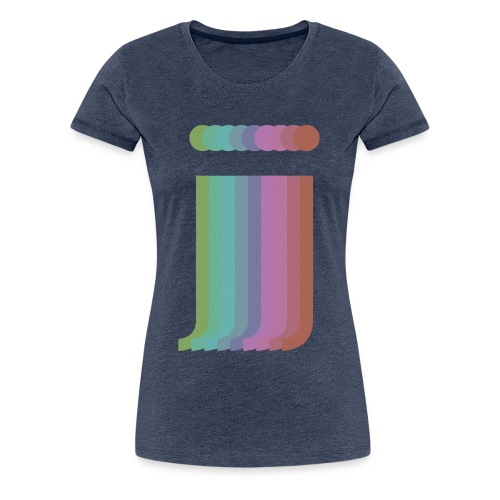 Multi_Colour_jamin - Women's Premium T-Shirt