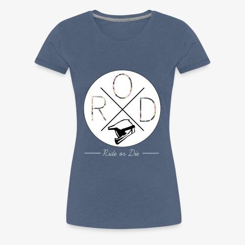 RideorDie Flowers - Frauen Premium T-Shirt
