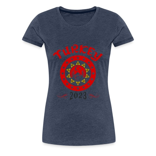Tuerkei 2023 cp - Frauen Premium T-Shirt