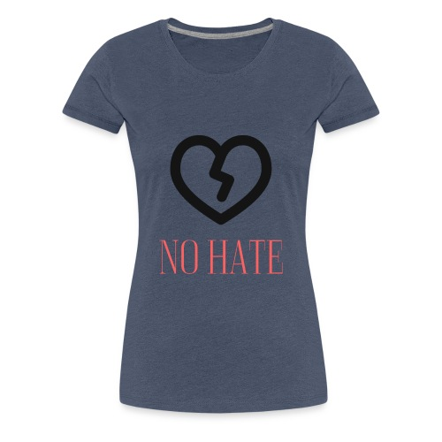 No Hate Logo - Women's Premium T-Shirt
