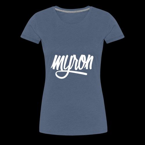 Myron - Vrouwen Premium T-shirt