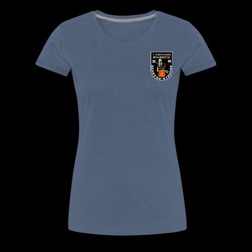 Schwarze Husaren Bedburg Kirdorf 2004 - Frauen Premium T-Shirt