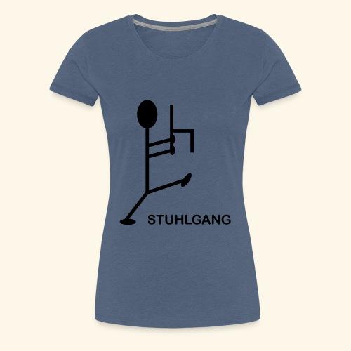 Stuhlgang - Frauen Premium T-Shirt