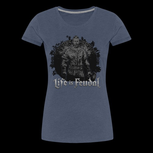 Life is Feudal SteamBadge 2 - T-shirt Premium Femme