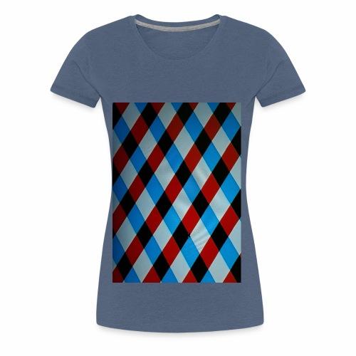 Karo - Frauen Premium T-Shirt