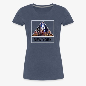 Triangle sur New York - T-shirt Premium Femme