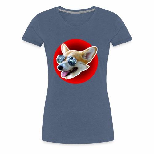 Cool Corgi - T-shirt Premium Femme