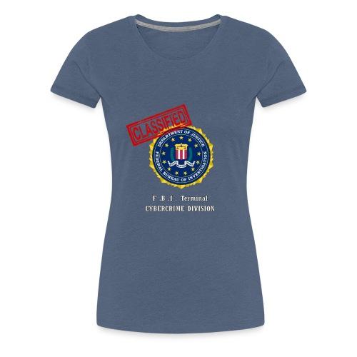 F B I - T-shirt Premium Femme