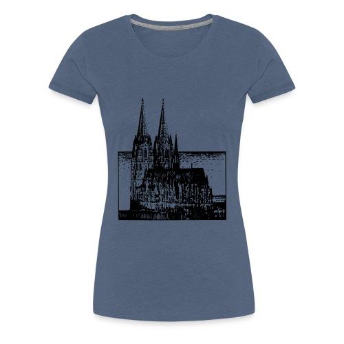Domstadt - Frauen Premium T-Shirt
