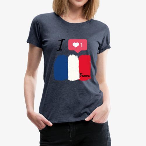 Frankreich - Frauen Premium T-Shirt