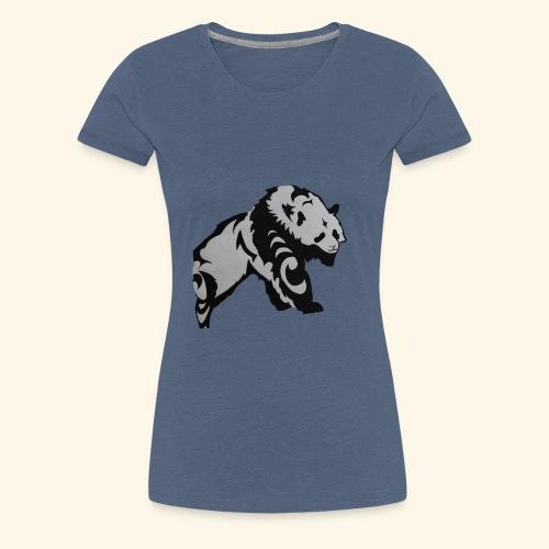 Dessin Panda tribal - T-shirt Premium Femme