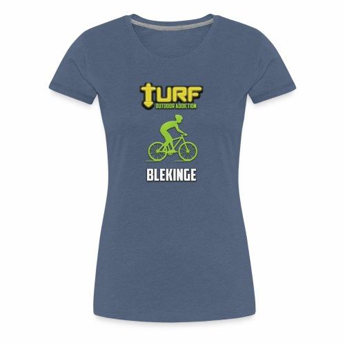TURF - BLEKINGE - Premium-T-shirt dam