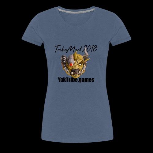 YakTribe TribeMeet 2018 Light - Women's Premium T-Shirt