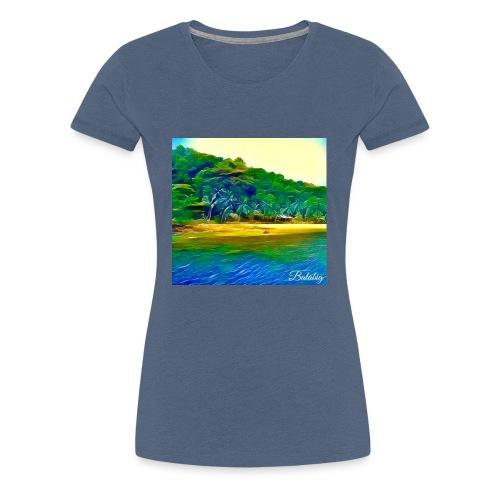 Tropical beach - Maglietta Premium da donna