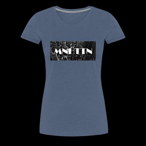 MNHTTN - New York Manhattan Downtown - Frauen Premium T-Shirt