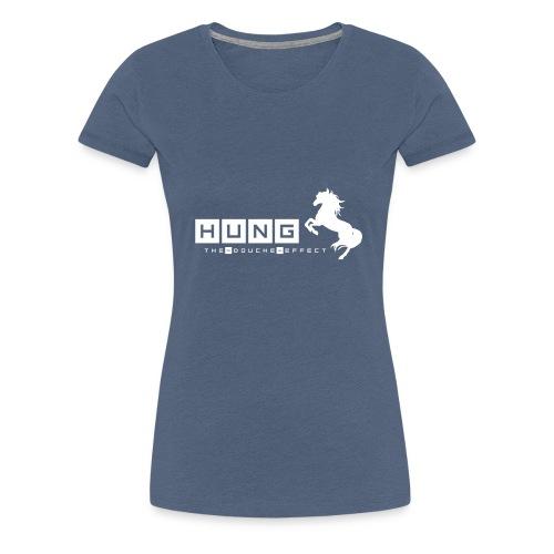 Hung Stallion WHT - Women's Premium T-Shirt
