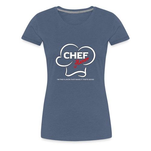 Chef Flavor - Women's Premium T-Shirt