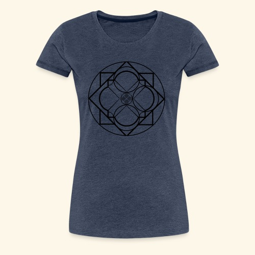 Art 2 Trapped Freedom - Vrouwen Premium T-shirt