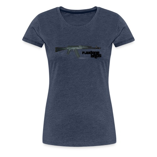 fjudone bros (AK-47) - Frauen Premium T-Shirt