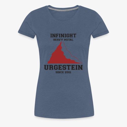 IN Urgestein Gipfel dunkel - Frauen Premium T-Shirt
