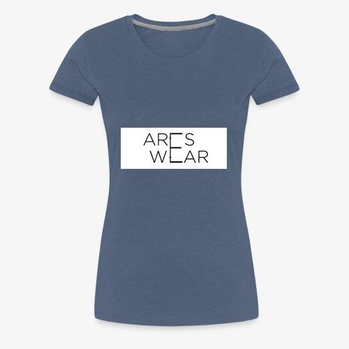 Areswear Logo - Frauen Premium T-Shirt