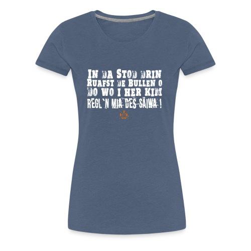 SaeiwaRegeln - Frauen Premium T-Shirt