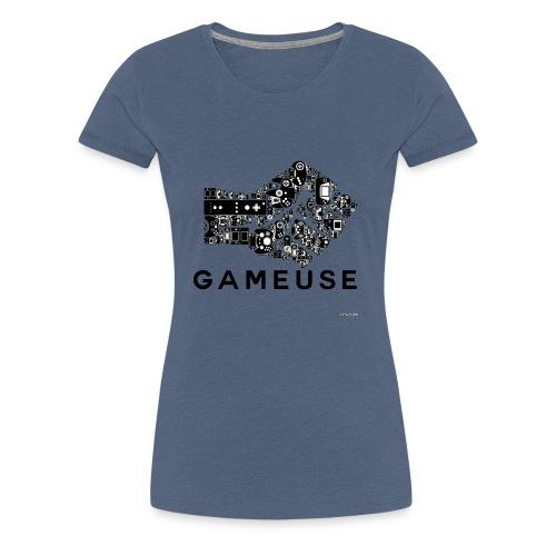 POING GAMEUSE - T-shirt Premium Femme
