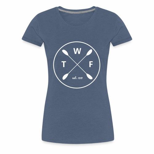 TWF Weiss - Frauen Premium T-Shirt