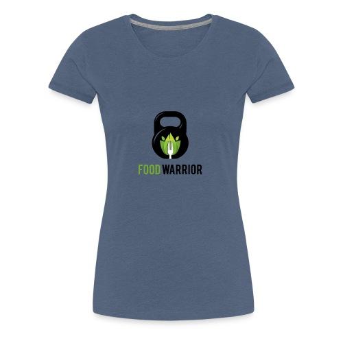 FoodWarrior Official Logo - T-shirt Premium Femme