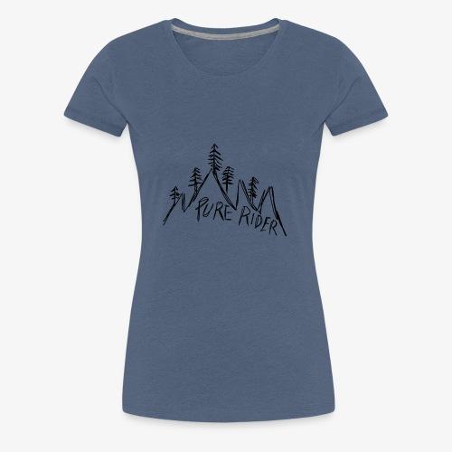 PureRider Berg - Frauen Premium T-Shirt